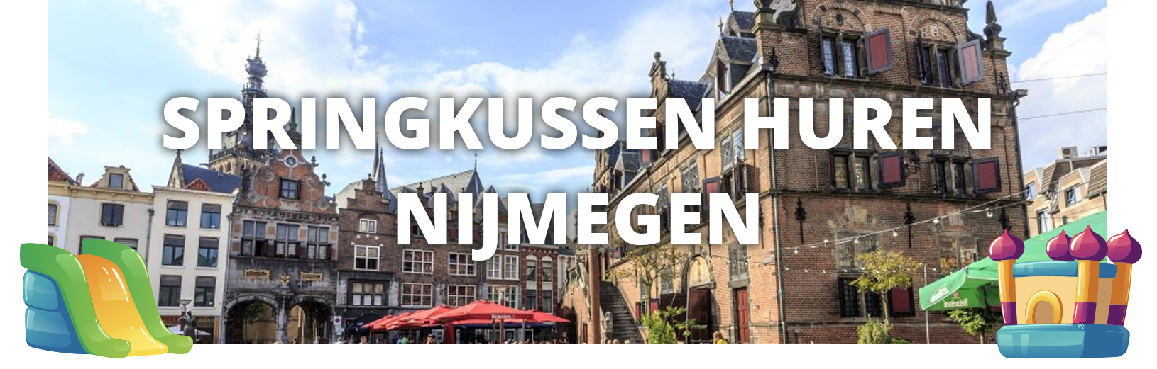 Springkussen huren Nijmegen