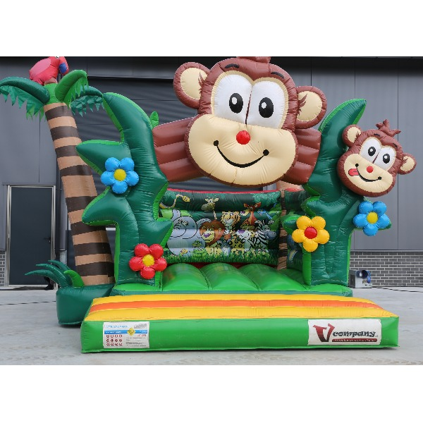 Springkussen Jungle middel
