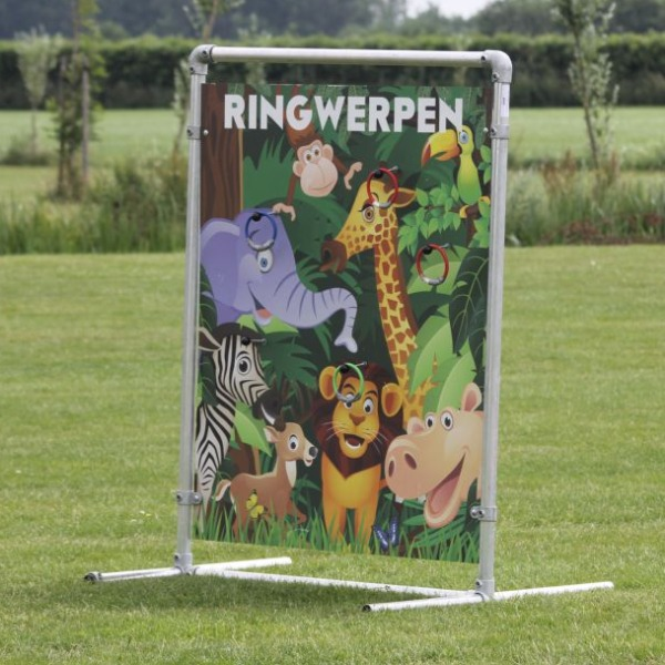 Spelbord ringwerpen Jungle