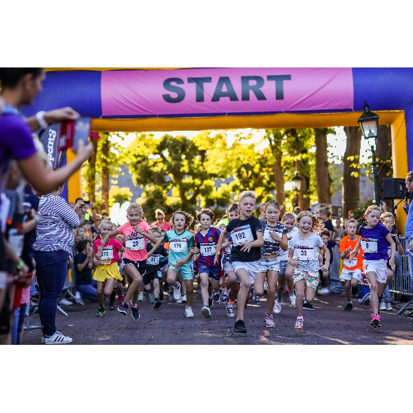 Start en Finishboog actiefoto